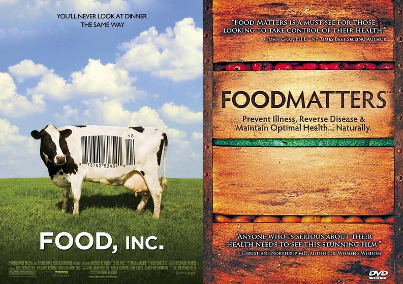 FOOD INC FOOD MATTERS