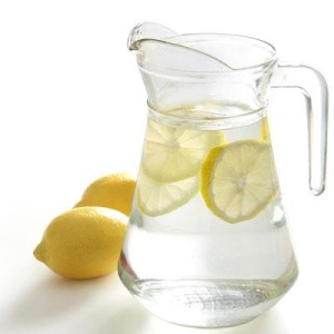 Throw a few slices in a pitcher before bed