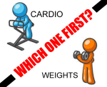 WEIGHTS OR CARDIO, WHICH ONE FIRST,GYM