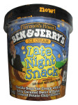 late nite snack,ice cream,ben & jerry's, eating before bed